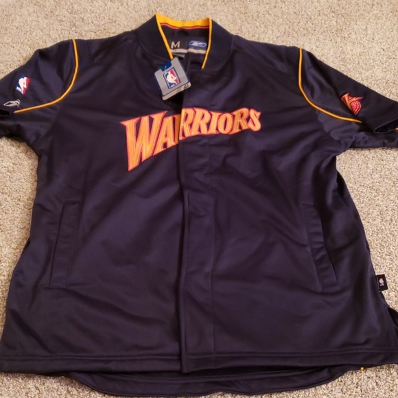 super popular f5703 a1902 Vintage Golden State Warriors Shooting Shirt nwt NWT